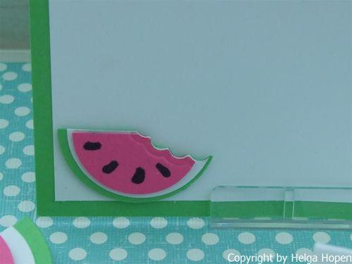 Melonen Karte u. Deko 006 (Custom)