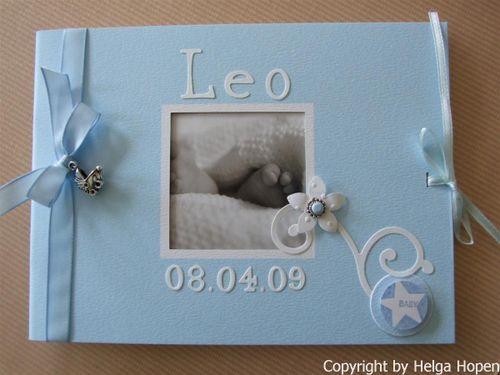CD Karte Taufbuch Leo 023