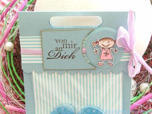 Flip Flop Verpackung Karte z. Umzug 013 (Custom)