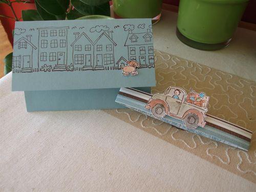 Flip Flop Verpackung Karte z. Umzug 027 (Custom)