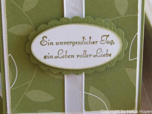 Hochzeitskarte Margit 23