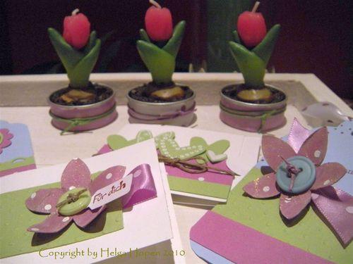 Kl Kärtchen Orchideenpink mattgrün3