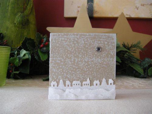 Gutschein Weihnachtskarte 110 (Custom)