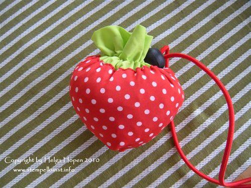 Erdbeer-Beutel