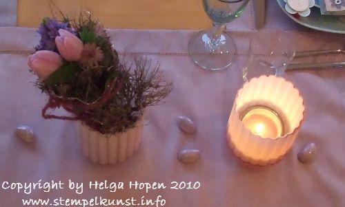 Licht-Vase