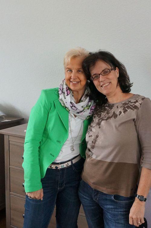 Helga und Andrea_Teamtreffen_2013-09-01