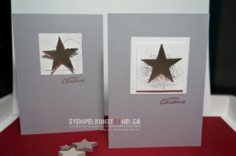 Edle Weihnachtskarten.Edle Weihnachtskarten Stempelkunst By Helga
