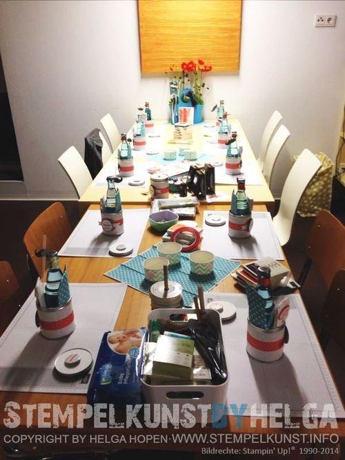 #Tischvorbereitung#tirol#matrei#2014-06-24