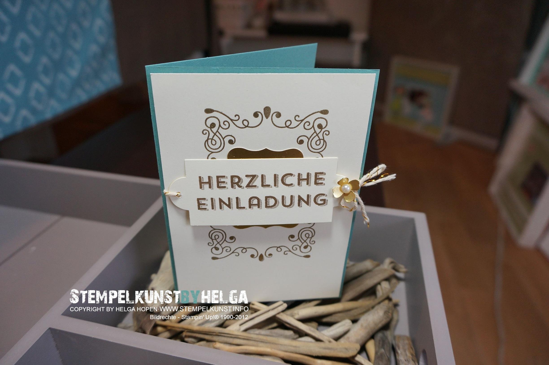 stempelkunst-by-helga: einladung, Einladung