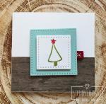 5#malerischeWeihnachten#Holzdekor#Geschenkband#2017-10-22