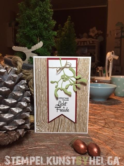 1#mistletoe#christmas#weihnachten#2015-11-30