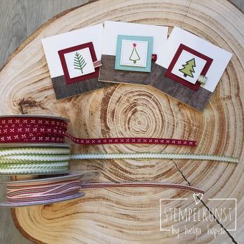 3#malerischeWeihnachten#Holzdekor#Geschenkband#2017-10-22