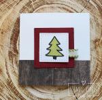 7#malerischeWeihnachten#Holzdekor#Geschenkband#2017-10-22