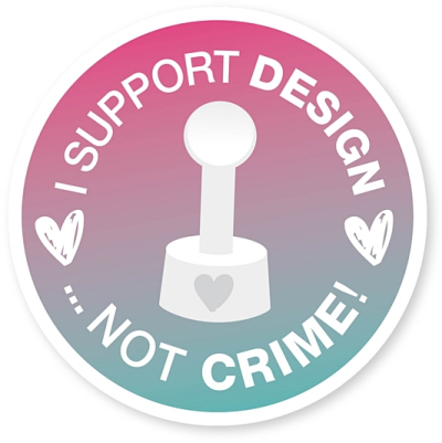Support design-not crime