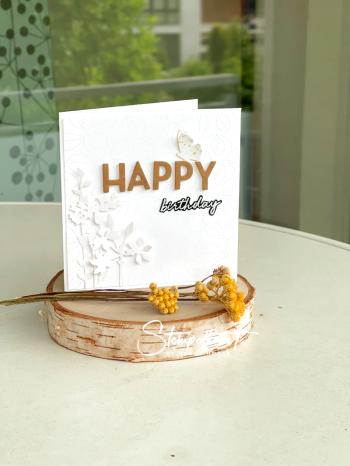 1#birthday#kranz#stickerei